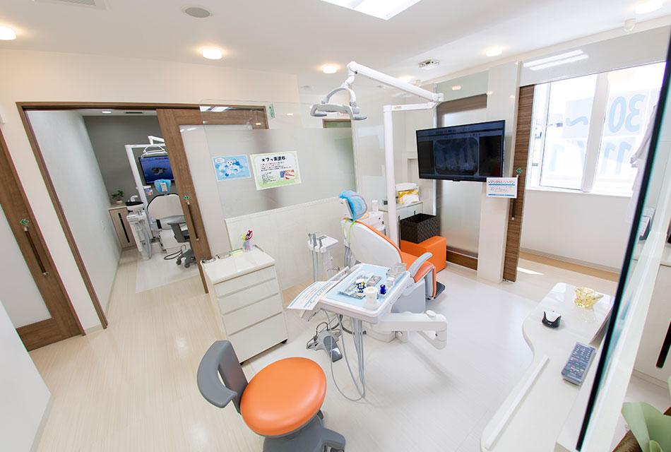 岡山県瀬戸内市内の歯医者 おさふねフレンド歯科の受付