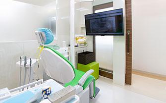 岡山県瀬戸内市内の歯医者 おさふねフレンド歯科のユニット